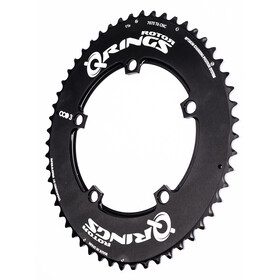 Rotor Q-Ring Road Aero OCP3 Chain Ring 110mm utsida black
